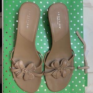 Reaction Tan Sandals 9.5